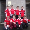U-12 hurlers Play At Half Time In Christy Ring Tie.