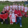 U-10 Camogie Team With New Jerseys