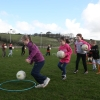 Down Player visits Aghaderg GAA Academy