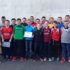 U-14 Hurlers Receive Down Championship Runner-Up Medals.
