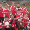 AGHADERG VICTORIOUS AT BANBRIDGE U-10 & U-8 TOURNAMENT.